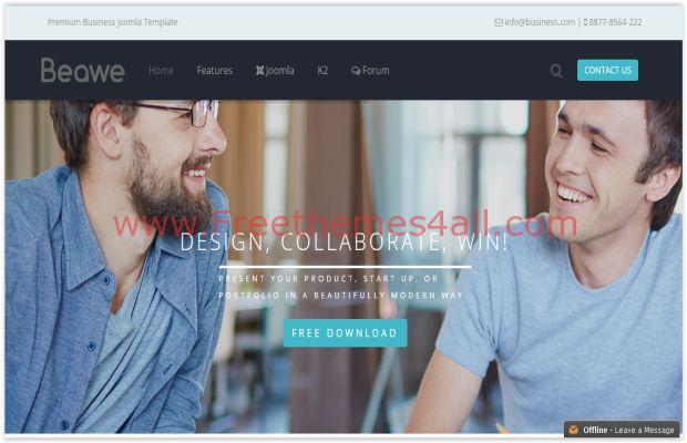 Corporate Responsive Joomla Business Theme