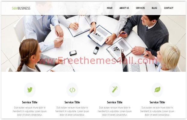 Responsive Small Business WordPress Theme