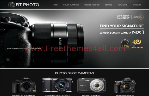 Black Photos Cameras Shop Joomla Them