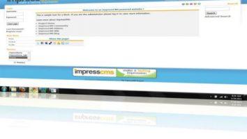 ImpressCMS Php Portal Script