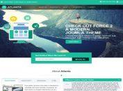 Business Parallax Joomla Template