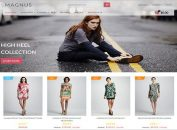 Premium Online Fashion ZenCart Template