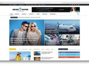 Responsive Magazine Newspaper WordPress Theme