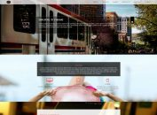 Responsive Corporate Parallax Drupal Theme