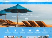 Blue Responsive Free Joomla Travel Template