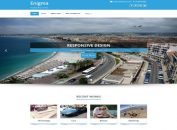 Multipurpose Responsive Blue WordPress Theme