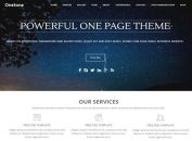 Responsive One Page Business WordPress Theme