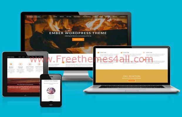 Ember WordPress Theme Free