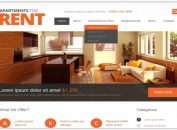 6 Aesthetic and Responsive Drupal Real Estate Themes