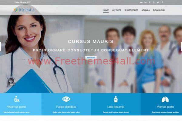 Responsive Health Medical Joomla Template